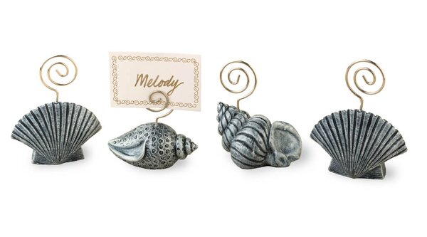 Seashell Place Card Holders (Set of 4) by Birch Lane™
