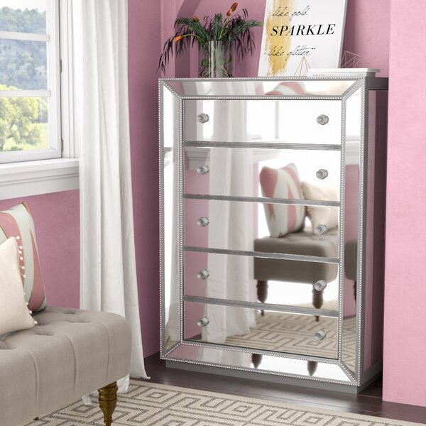 Acuna 5 Drawer Bedroom Chest by Willa Arlo Interiors