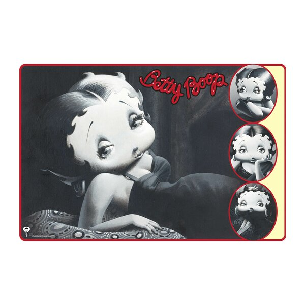 Styled Betty Boop Wall Decal by Advanced Graphics