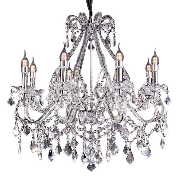 Andesine 8 - Light Candle Style Classic / Traditional Chandelier By House Of Hampton