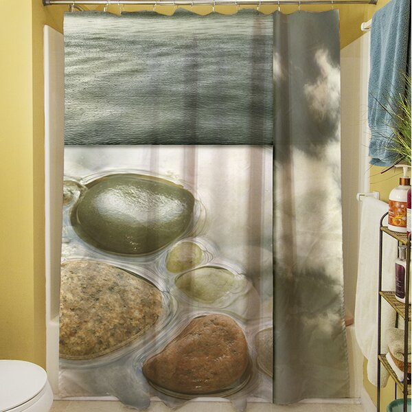 Natural Elements III Shower Curtain by Manual Woodworkers & Weavers