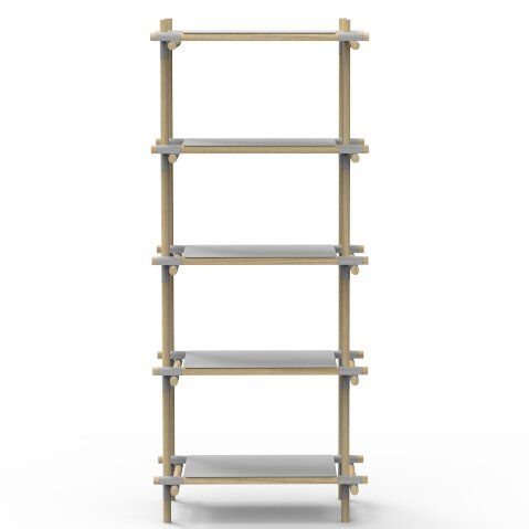 Stick System Standard Bookcase by Menu