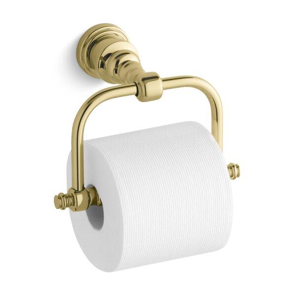 Iv Georges Brass Horizontal Toilet Tissue Holder by Kohler
