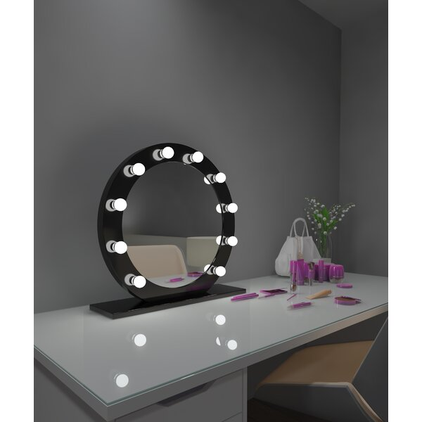Treyton Dimmable Makeup/Shaving Mirror by Rosdorf Park