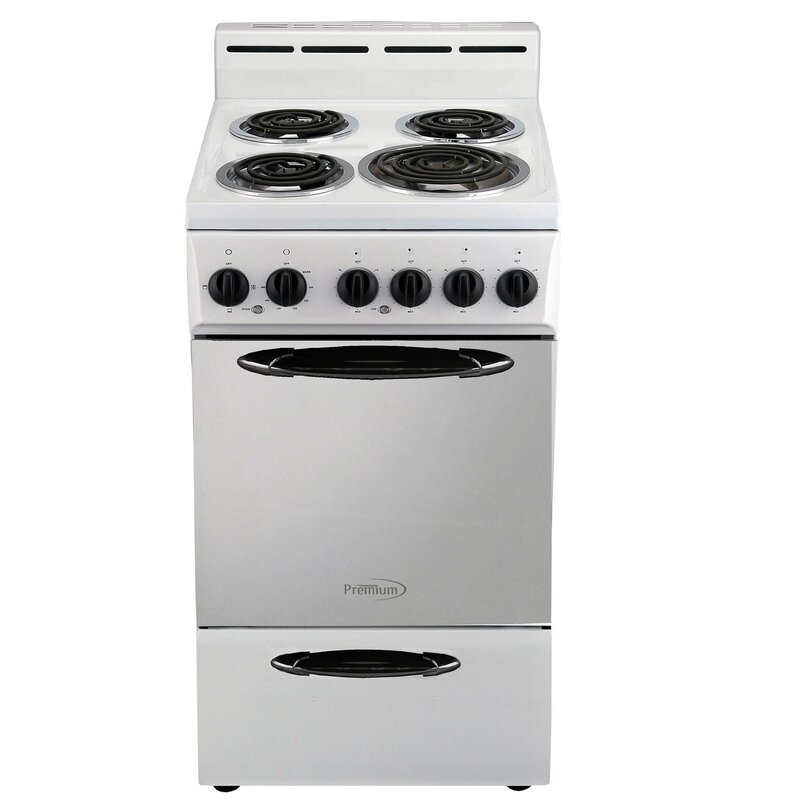 2 6 Cu Ft Freestanding Electric Range