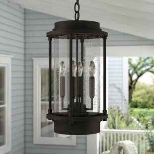 Price comparison Bergland 4-Light Outdoor Hanging Lantern By Laurel Foundry Modern Farmhouse