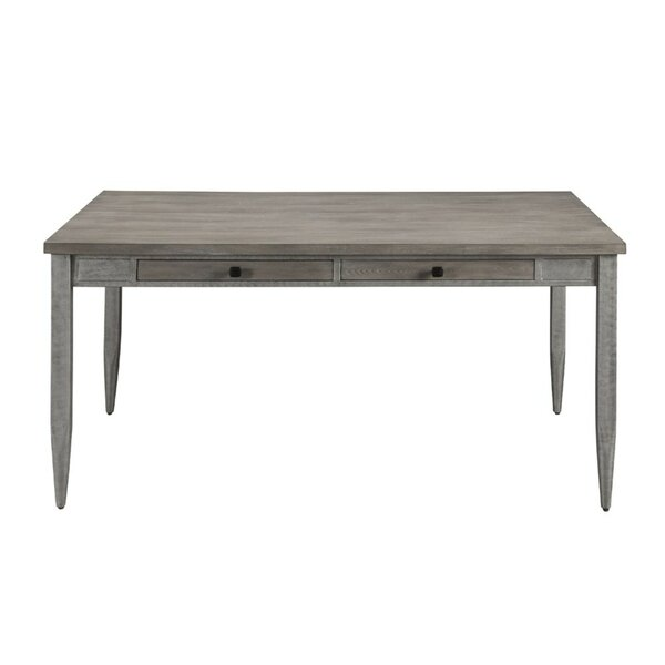 Searles Wood and Metal Dining Table by Gracie Oaks