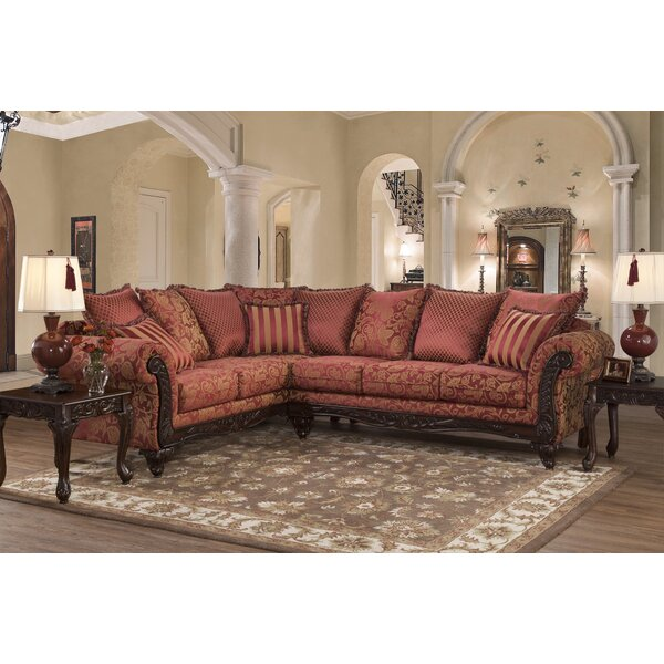 Fairclough Left Hand Facing Sectional by Astoria Grand