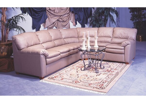Vegas Sectional by Omnia Leather
