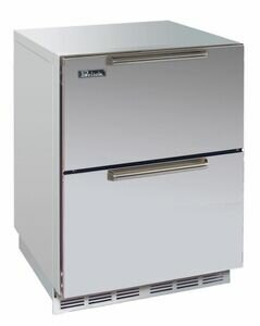 Signature Series 5.2 cu. ft. Frost-Free Freezer Drawers by Perlick