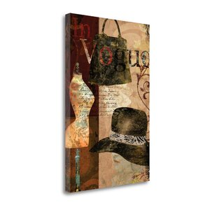 In Vogue' Graphic Art Print on Canvas by Tangletown Fine Art
