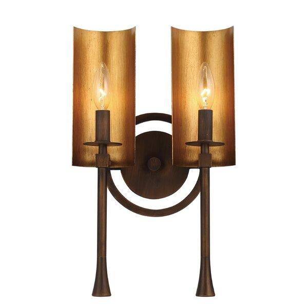 Sturgis 2-Light Vanity Light by Millwood Pines