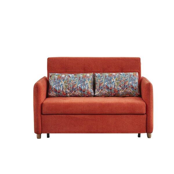 Pym Queen Cushion Back Convertible Sofa By Ebern Designs