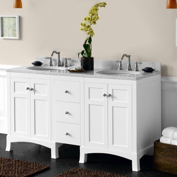 Hampton 61 Double Bathroom Vanity Set by Ronbow