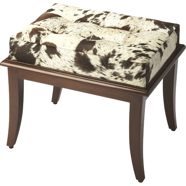 Cosmopolitan Dania Hair-On-Hide Stool by Butler