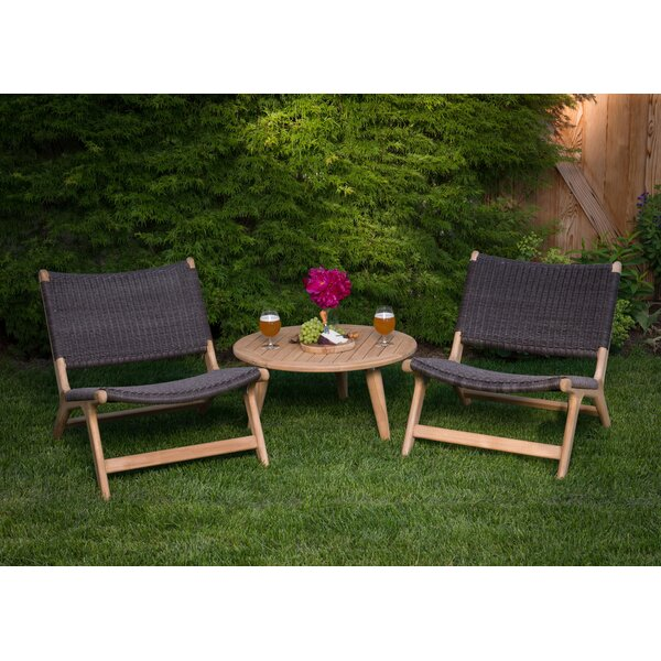 Timmerman 3 Piece Lounge Seating Group by Mistana