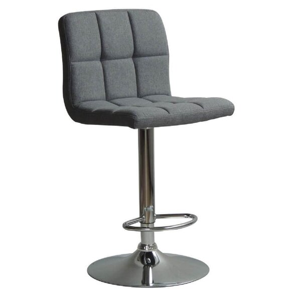Grier Adjustable Height Swivel Bar Stool by Ebern Designs Ebern Designs