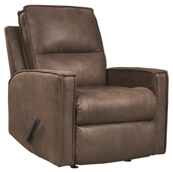 Nairn Manual Rocker Recliner by Loon Peak