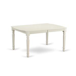9 Piece Dining Set in Linen White by East West Furniture