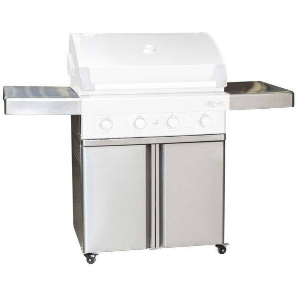 Turbo Elite Universal Grill Cart for Turbo by Barbeques Galore