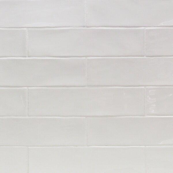 Catalina 3 x 12 Porcelain Subway Tile in White by Splashback Tile