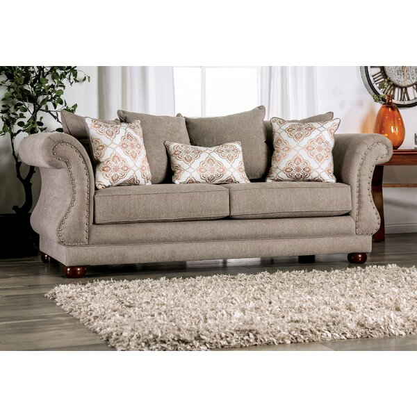 Roseberry Flared Arms Sofa by Canora Grey
