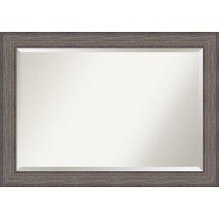 Rosecliff Heights Robscott Barnwood Oversize Accent Mirror