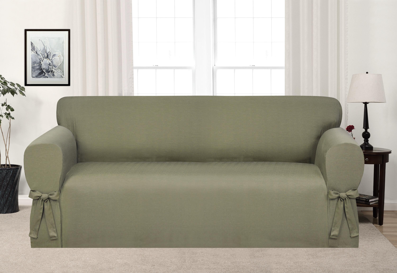 Box Cushion Sofa Slipcover U0026 Reviews | Wayfair