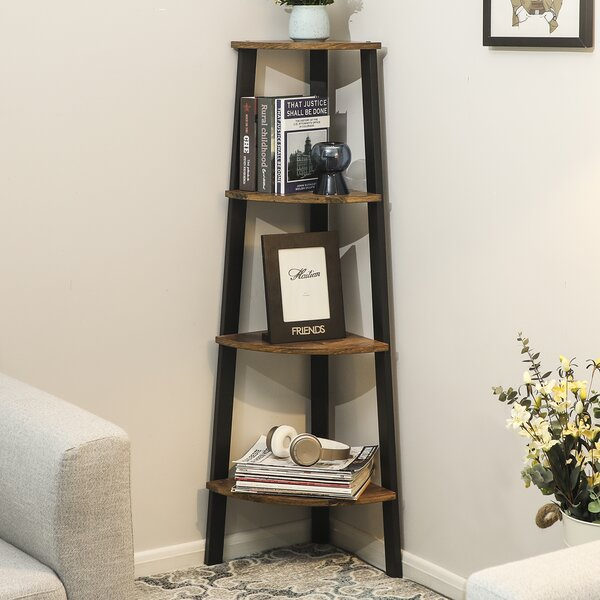 Drumm Corner Bookcase By Gracie Oaks