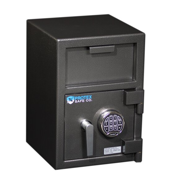 Front Loading Commercial Depository Safe with Electronic Lock by Protex Safe Co.