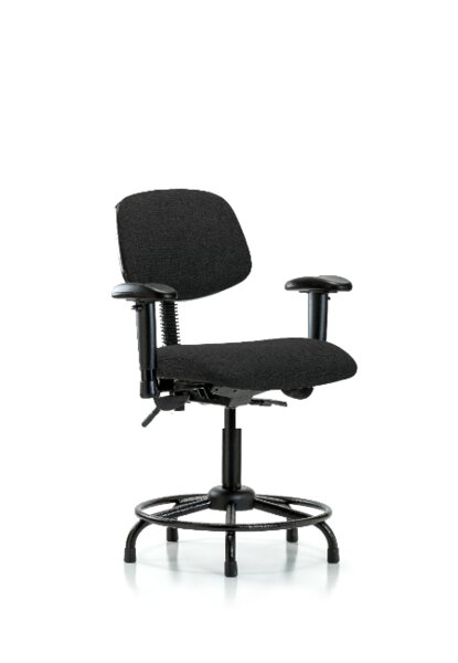 Dominic Round Tube Base Ergonomic Office Chair by Symple Stuff