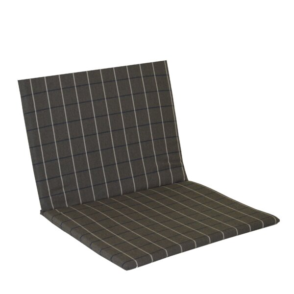 Striped Fabric IndoorOutdoor Adirondack Chair Cushion By Charlton Home