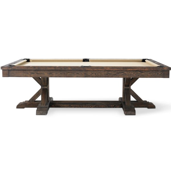Thomas 8' Slate Pool Table by Plank & Hide