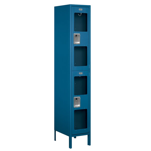 2 Tier 1 Wide Wide Gym and Locker Room Locker by S