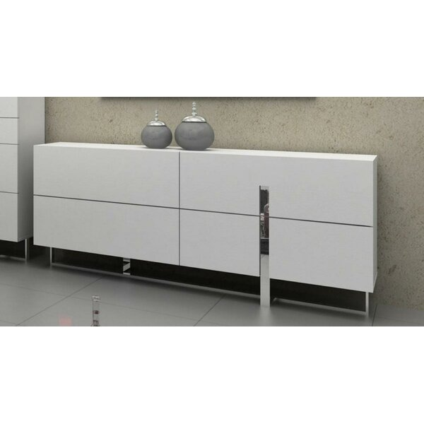Newdale Voco 4 Drawer Standard Dresser/Chest by Wade Logan