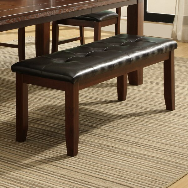 Lecroy Upholstered Bench by Millwood Pines Millwood Pines