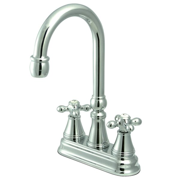 Victorian Double Handle Kitchen Faucet by Kingston Brass