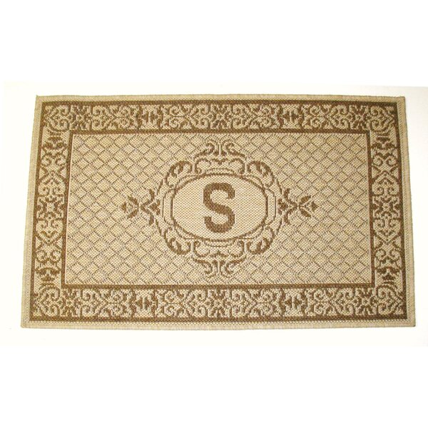 Lexington Monogram Indoor/Outdoor Area Rug by Geo Crafts, Inc