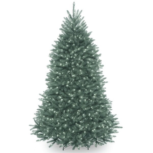 Green Fir Artificial Christmas Tree with Clear Lights with Stand by The Holiday Aisle