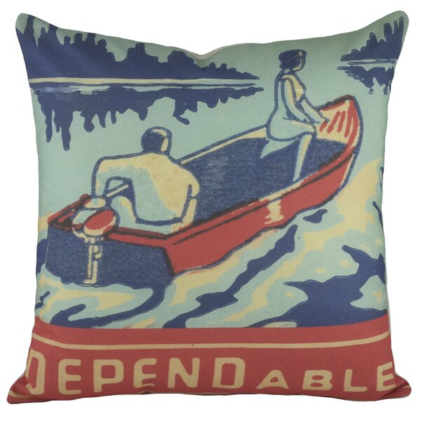 Dependable Cotton Throw Pillow by TheWatsonShop