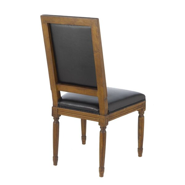 Jasmine Vintage French Square Upholstered Dining Chair (Set of 2) by Gracie Oaks