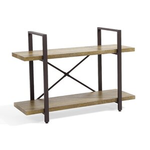 cousteau two level etagere bookcase