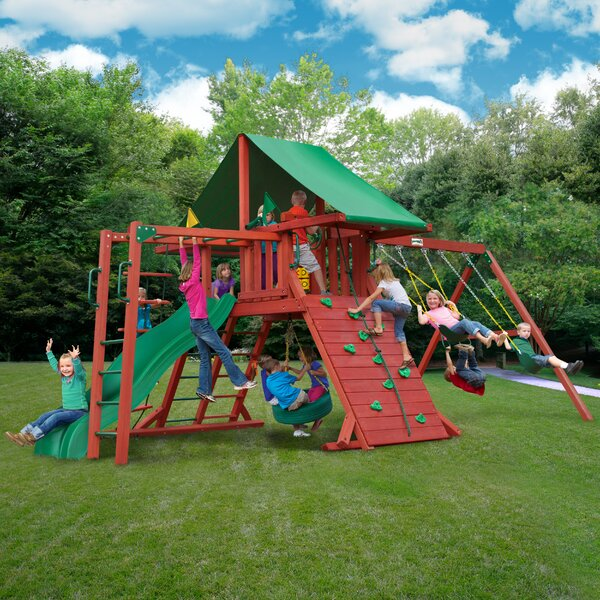 Sun Valley II Swing Set by Gorilla Playsets
