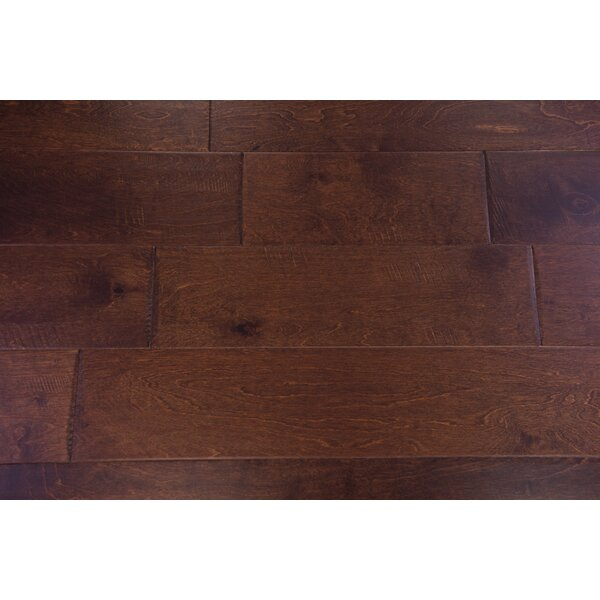 Athens 6-1/2 Engineered Birch Hardwood Flooring in Chocolate by Branton Flooring Collection