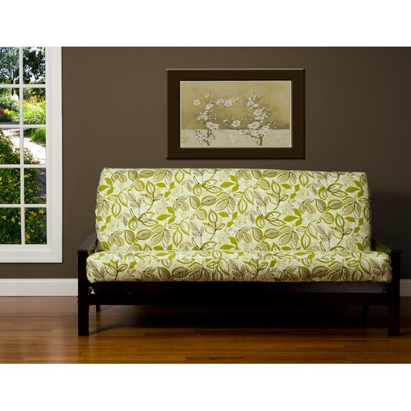 Candace Box Cushion Futon Slipcover by Bayou Breeze