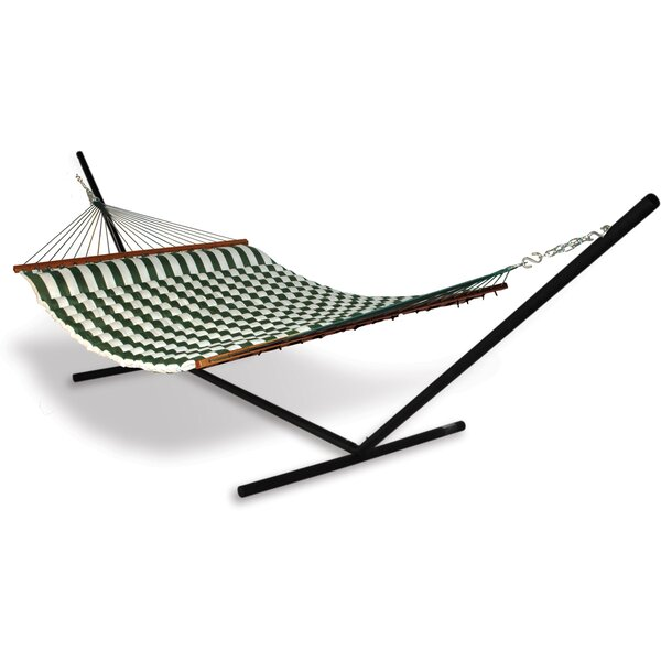 Spicer Polyester Hammock with Stand by Breakwater Bay Breakwater Bay