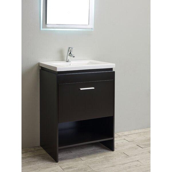 Breccan 24 Single Bathroom Vanity Set by Orren Ellis