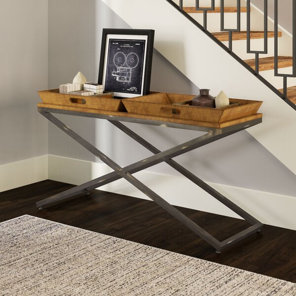 Alewife Industrial Console Table by Trent Austin Design