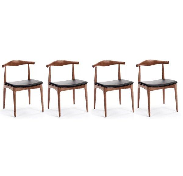 Chancy Solid Wood Dining Chair (Set of 4) by Corrigan Studio Corrigan Studio