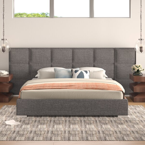 Fermin Upholstered Standard Bed by Brayden Studio